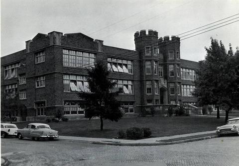 1967 - Roosevelt Junior High School was located at 1046 Studer Avenue