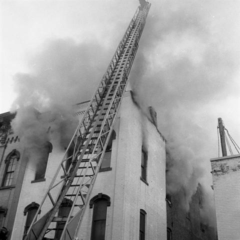 1962 - Fire at the Michigan Woodcraft Building