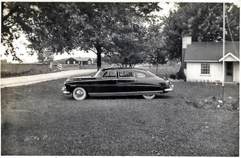 1945 - Uncle Ray's new car.