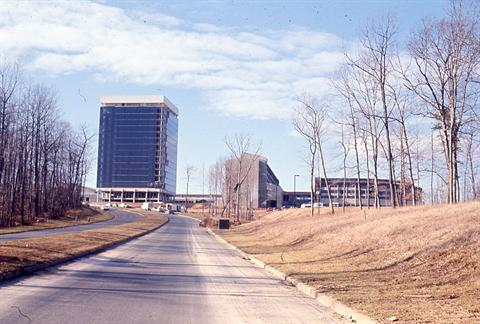 1970 - International Center from Sunrise Valley Drive