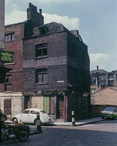 1966 - Derelict houses and shops