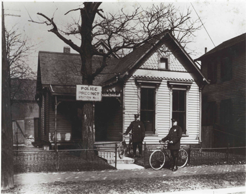 1900 - Police Precinct Station No. 1, 930 E. 17th Street