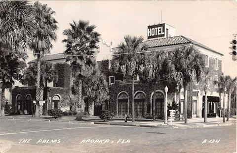 1940 - The Palms, Apopka, Fla.